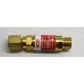 """Visszaégés gátló patron reduktorra Égő gáz 3/8""""LH SG2 2 funkciós ('FR18') GCE H0081850"""