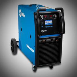 Miller MIGMatic 300iP gázhűtéses kompakt inverteres hegesztőgép beépített előtolóval, impulzus-duplaimpulzus