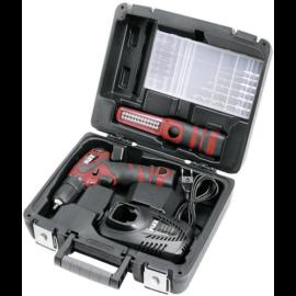 FLEX ALI 10,8 G csavarbehajtó 2db 10,8V/1,3Ah akku, 38Nm,1,1kg akkuval + LED lámpa,bit készlet, hordtáskával Kiárusítás! 338.583