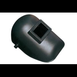 Hegesztő fejpajzs 90x110mm fekete műanyag (GCE) 548910000017