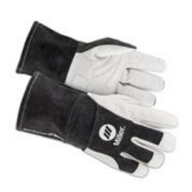 Hegesztő kesztyű MIG/MAG/MMA  HD MIG/STICK Miller 271887 sötét szürke mandzsetta bőr XL/11,5-es