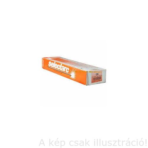 Felrakó Selectarc HB66 4,0x450mm 6kg/cs. (~65 HRC) magas ötvözetű karbidos felrakó elektróda,nagy abraz.koptat. ellenáll,200% kihoz,550°C-ig