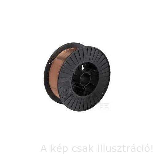 SG2 (EN440:G3Si1) 0,6mm 5kg/cs., tömör hegesztőhuzal, védőgázas, D200 műanyagcsévén - SPARK