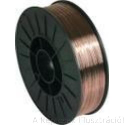 SG2 (EN440:G3Si1) 0,8mm 5kg/cs. hegesztőhuzal, védőgázas, D200 műanyagcsévén - KEN8871980K