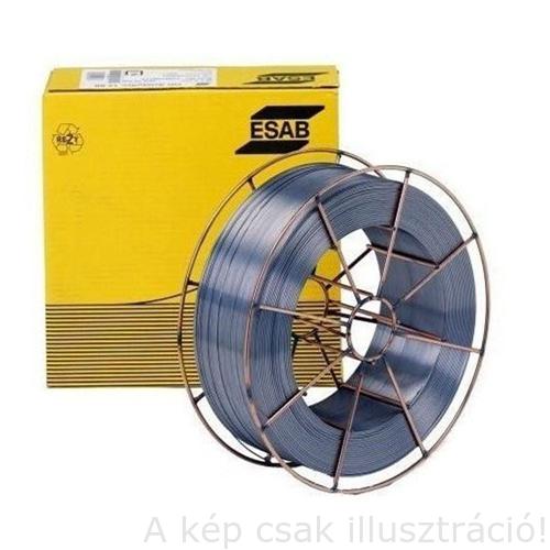 MIG 308LSi (G 19 9 LSi,ER308LSi) 0,9mm 15kg/cs.rozsdamentes huzal ESAB OK Autrod 16.12