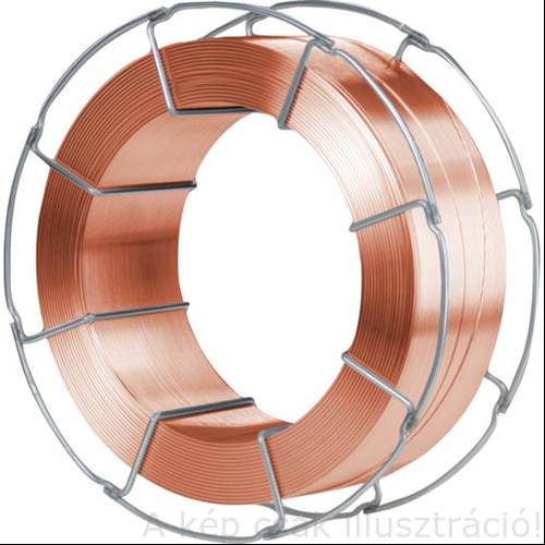 SG3 (EN440:G4Si1) 1,0mm 15kg/cs hegesztő huzal WDI 16 SG LP rezezetlen,sor-sor melletti, D300
