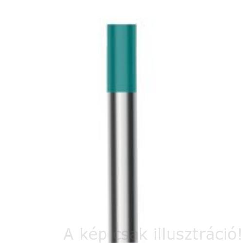 Volfrám elektróda WM20/WS2 (türkiz) ritkaföldfém 2,4x175mm 800CS24175