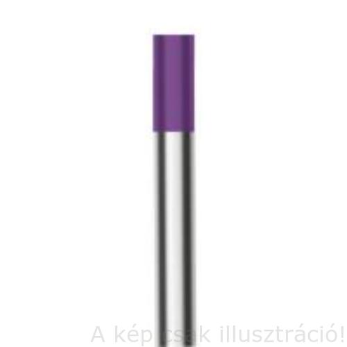 Volfram elektróda WGLa (lila) 15 3,2x175mm WE3 (ritka földfémoxid tartalmú) 700.0310.10