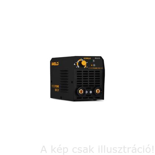 Heg. inverter Gorilla PocketPower150 (140A-60%Bi) test és munka kábelekkel műa. kofferben, Akciós!