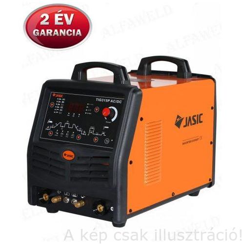 Heg. inverter JASIC TIG 315 AC/DC Digital (E106) 315A-60%Bi; SR18/4m vizes AVI pisztollyal, testkábellel