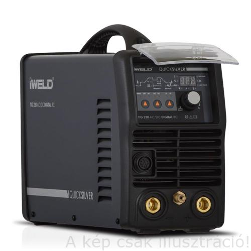 Heg. inverter IWELD  TIG 220 AC/DC (200A-35%) 4fm-es SR 17  AVI pisztollyal,munka kábelekkel 800TIG220ACDC