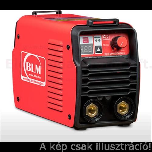 Heg. inverter BLM 2060DTM Mini, Digitális, MMA/Lift TIG (10-200A@60%Bi)test és munkakábellel,vállpánttal, kofferben,BLM auto pajzzsal Akció!