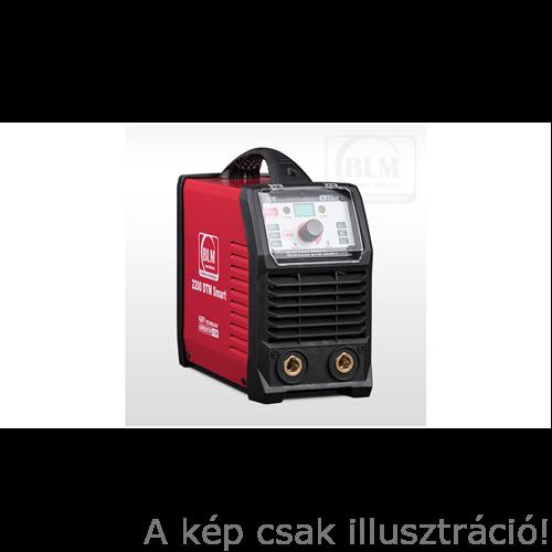 Heg. inverter BLM 2200 DTM Smart Digitális, MMA/Lift TIG 10- 220A@45% nagy Dinse,test és munkakábellel