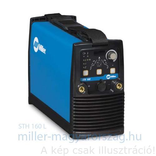 Miller STH 160L PFC, HF AVI, inv.heg.gép csak (MMA és TIG,impulz,230V,5–160A, 145A@30%Bi,VRD) opció: WP9 vagy 17/4m AVI pisztoly+testkábel
