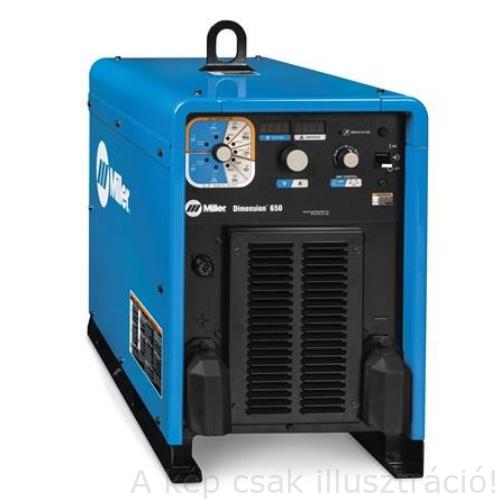 Miller Dimension 650 nagy ipari inverteres hegesztő áramforrás,15-815A,650A/100%Bi, MIG,MMA,Cell,TIG-Lift,Gyökfaragás   29015507