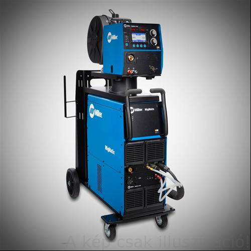 Miller MIGMatic S400iP szinergikus impulzus-duplaimpulzus áramforrás, 400V 50/60 Hz, kimenő áram 15A- 400A