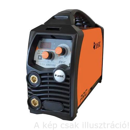 Heg. inverter JASIC PRO ARC 160  (MMA/LiftTIG;160A-60%,3-3m test-és munkakábellel)