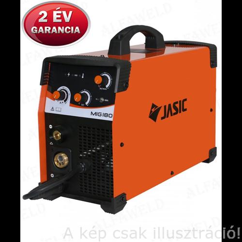 MIG/MAG Heg. gép Jasic inverteres MIG 180 (N240)2 funkció, test és munkakábellel, 12,8kg