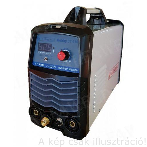 Plazmavágó- hegesztőgép inverteres Hobby CT 416 DC AVI,plazmavágó 10mm-ig, MMA plazma és AVI pisztolyokkal, test és MMA kábellel