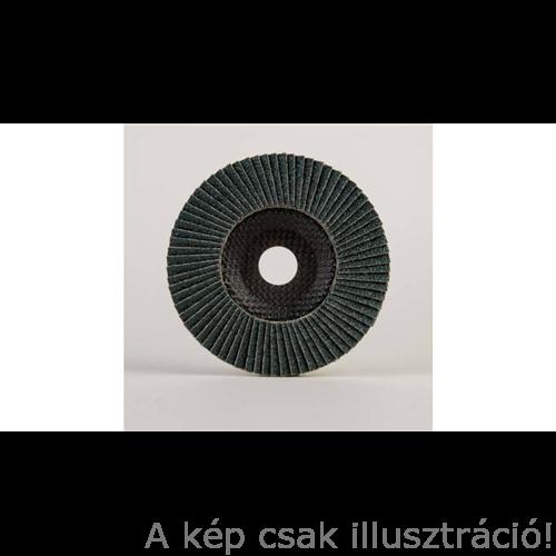 125mm-Z,E-40 125mm-es lamellás csiszolótányér Powerflex-RIO  kúpos,G19 zirkonium 10db/csomag (229732)