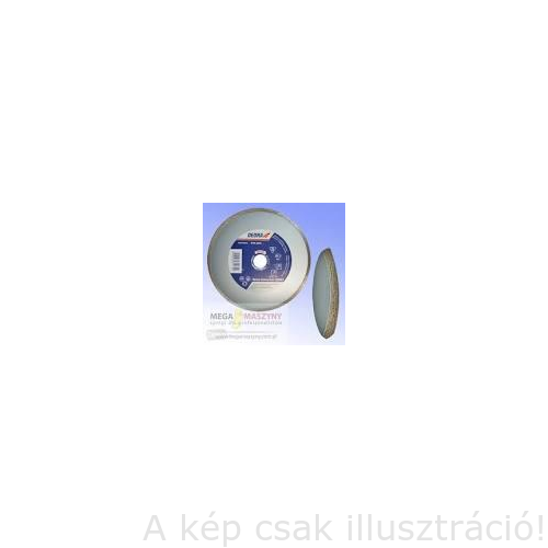 Gyémánt vágótárcsa 230x22,2 mm folyamatos vágóéllel csempéhez DEDRA H1135, Kiárusítás!