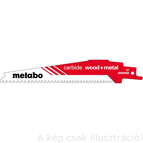 "METABO orrfűrészlap ""carbide wood+metal"" 150/6-8 TPI 626559000"