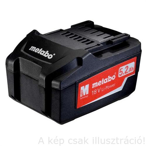METABO Akku 18V 5,2 Ah Li power  625592000