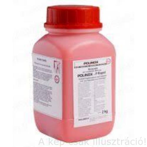 Rozsdamentes acéhoz varrat tisztító pácpaszta Polinox P Rapid (2kg), rózsaszínű