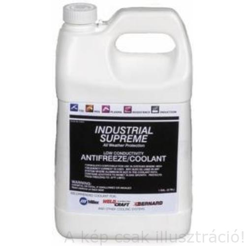 Miller hűtőfolyadék  1 gallon (3.78l) kis vezetőképességű/Low Conductivity Stock No:043810A1V5  043810