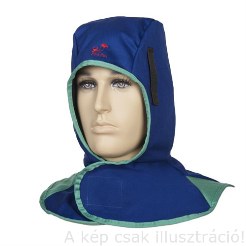 Hegesztő kámzsa égésálló kék színben Weldas Fire Fox™ 23-6680