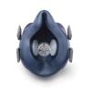 Kép 2/3 - Légszűrő maszk, félárarc Miller LPR-100 HALF MASK, cserélhető HEPA szűrővel M/L méretű ML00895; Opció: rendelhető még aktívszenes szűrőbetét