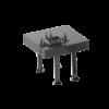 Kép 11/14 - Vector Dragon hegesztő asztal VS-WT Lv6mm 16mm-es furatokkal 1400x1400x6mm 4db lábbal