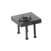 Kép 11/14 - Vector Dragon hegesztő leszorító asztal VS-WT Lv8mm 28mm furatok 2800x1000x8mm 6db lábbal