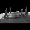 Kép 14/14 - Vector Dragon hegesztő leszorító asztal VS-WT Lv8mm 28mm furatok 2800x1000x8mm 6db lábbal