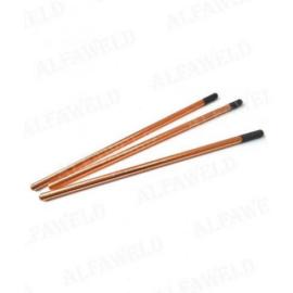 Szénelektróda 9,5x305mm rézbevonattal, 100db/doboz