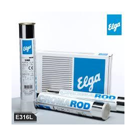 Inox R316L-17 2,5x300mm Elga Cromarod 316L(2,5kg/cs.,3,0/doboz)  sav és lugálló elektróda 19%Cr,9%Ni,2,5%Mo AKCIÓ!