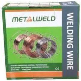 MIG 316LSi (19/12/3 NC Si) 1,0 15kg/cs  sav és lugálló hegesztőhuzal Metalweld