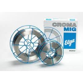 MIG 316LSi (19/12/3 NC Si) 0,8 15kg/cs. sav és lugálló hegesztőhuzal Elga CROMAMIG 98102008