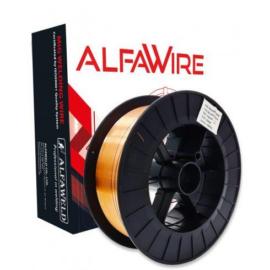 SG2 (EN440:G3Si1) 0,8mm 15kg/cs. hegesztőhuzal, védőgázas, D300-as műanyagcsévén - ALFAWIRE