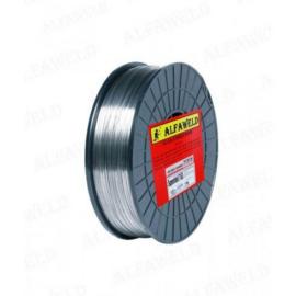 MIG ER410  1,0mm/15kg/csomag, 18/8 CrNi 304L típusú acélokhoz rozsdamentes huzal  (DRATEC)