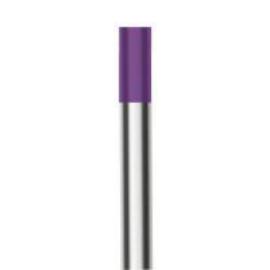 Volfrám elektróda WGLa (lila) 15 2,4x175mm WE03 (ritka földfémoxid tartalmú) 10db/csomag IW.800CE24175