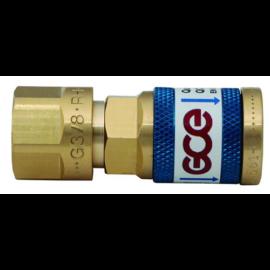 """Gyorscsatlakozó aljzat G1/4"""" menetű hollanderrel reduktorra Oxigén SD tipusú     GCE   F28710032"""