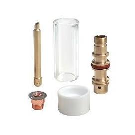 """AVI/TIG üveg gázterelős CK Worldwide Pyrex szett """"Nagy"""" SR17-26-18-hoz (D3GS332-P)"""