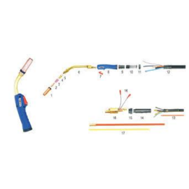 MIG/MAG pisztoly INNOTEC TORCH 500, 4m, (PRO5000-40ER)