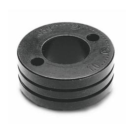 MIG/MAG görgő előtolóhoz D=30 0,8-1,0mm (recézett,porbeles huzalhoz) (D14 Mechafin + 2 meghajtó lyuk) belső perselyes D=10mm,