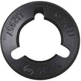 "Miller MIG görgő párban,2db(Drive Roll)""VK""132957 1.2mm recézett,  porbeles huzalokhoz FieldPro 132957"