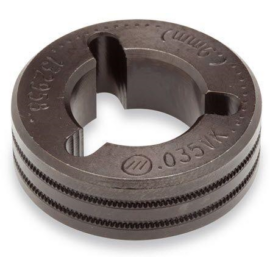 "Miller MIG görgő párban,2db(Drive Roll)""VK"" 0,9mm(recézett  porbeles huzalokhoz, FieldPro 132958"