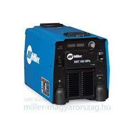Miller XMT 450 MPa ipari inverteres hegesztő áramforrás 1+3 fázisról is, MMA, Cell, TIG-Lift,450A@60% 907468