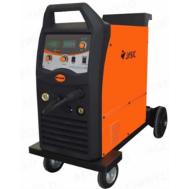 MIG/MAG Heg. gép Jasic MIG 250 (N270),2 görgős, inverteres, 3m-es MIG psiztollyal,50-250A/60%Bi 4 kerékkel, 47kg Akciós!