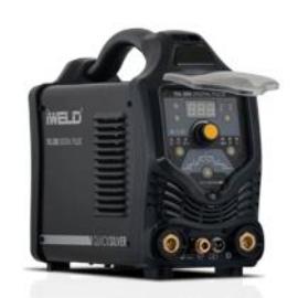 Heg. inverter IWELD  TIG 200 DC Digital Pulse 4fm-es SR 26 AVI pisztollyal,test és munka kábelekkel 800TIG200DIPU